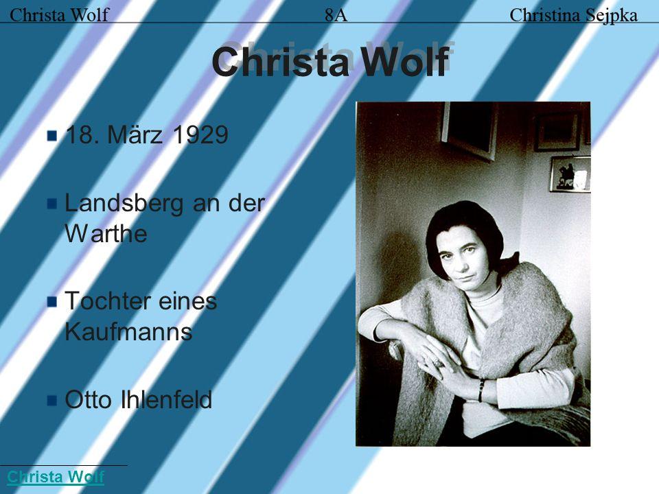 Bilder: Christa Wolf