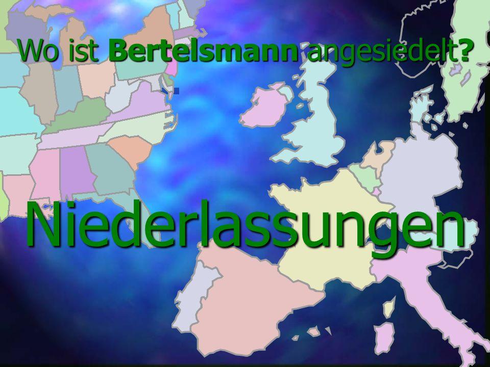 Bertelsmann - eine Aktiengesellschaft! Die Aktiengesellschaft wurde 1977 von Reinhard Mohn gegründet Die Aktiengesellschaft wurde 1977 von Reinhard Mo