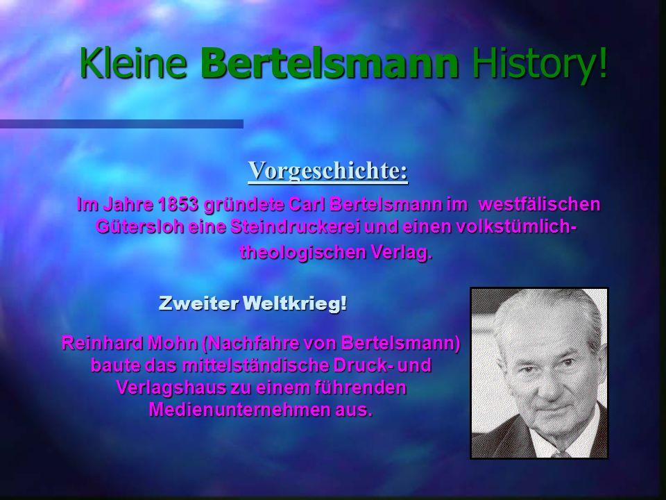 Kleine Bertelsmann History.