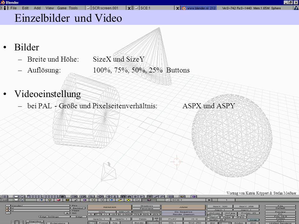 Die Berechnung der 3D - Szene Web -, Video -, Animationsausgabe und Motionblur