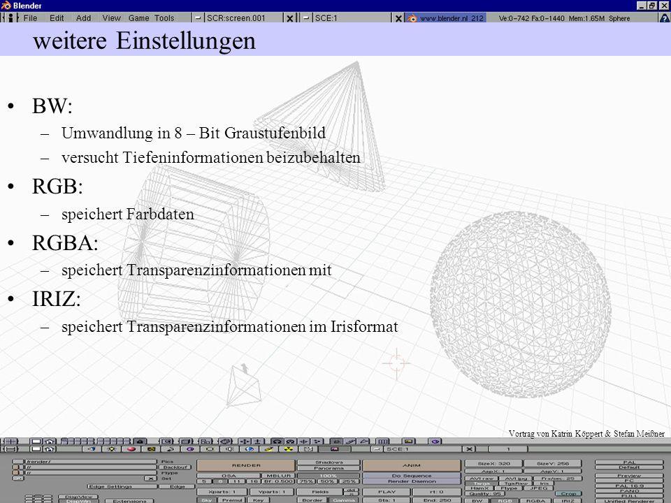 Vortrag von Katrin Köppert & Stefan Meißner Einzelne Bildformate HamX: –kleine, schnell zu ladene Bilder –gut für Animationen –schlechte Bildqualität