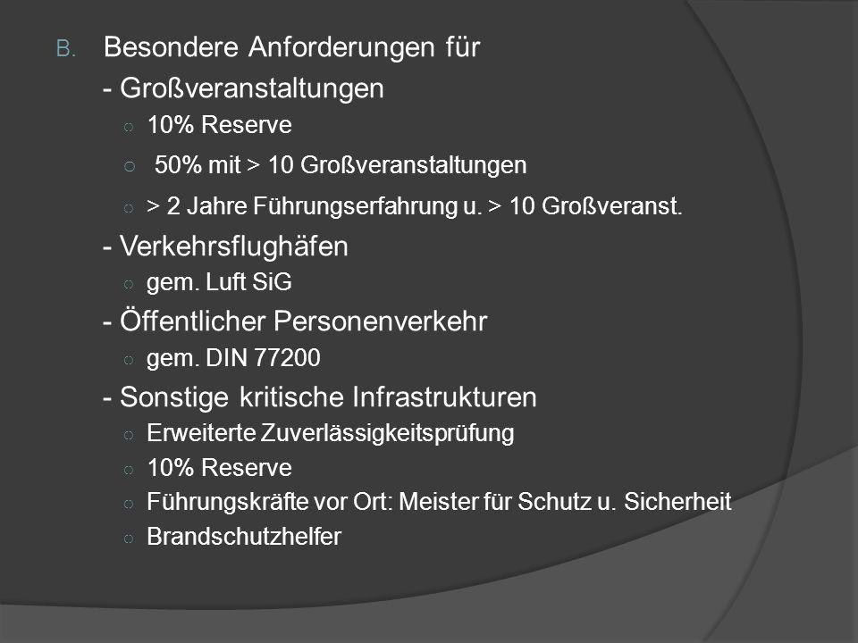 BDSW Qualitätsstandard A.Allg. Anforderungen o Unbedenklichkeitsbescheinigungen u.