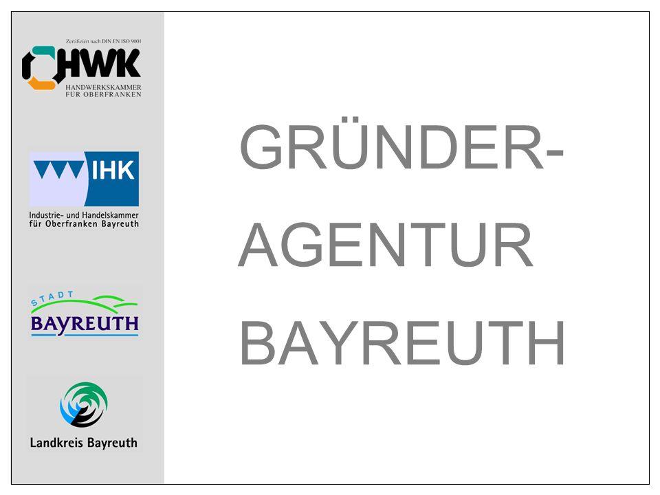 GRÜNDER- AGENTUR BAYREUTH