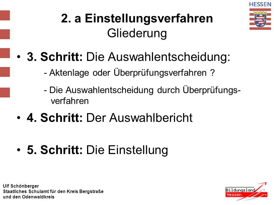 Ulf Schönberger Staatliches Schulamt für den Kreis Bergstraße und den Odenwaldkreis 2.