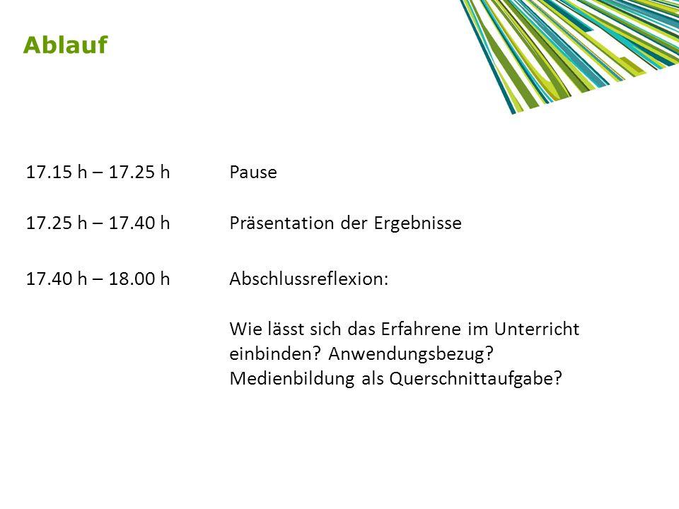 Quelle: Bildungsstandards und Inhaltsfelder Das neue Kerncurriculum für Hessen Sekundarstufe I – Realschule ENTWURF KUNST, Oktober 2010; Kompetenzbereiche des Faches, S.12 Beispiel Kunst - Medienkompetenz in den Fächern
