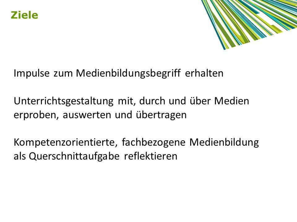 Quelle: Bildungsstandards und Inhaltsfelder Das neue Kerncurriculum für Hessen Sekundarstufe I – Realschule ENTWURF KUNST, Oktober 2010; Kompetenzbereiche des Faches, S.15 Beispiel Kunst - Medienkompetenz in den Fächern