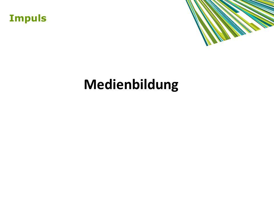 Methoden lernen… … mit Medien: produzieren, dokumentieren, experimentieren, präsentieren … durch Medien: gestalten, lernen, organisieren … über Medien: diskutieren, reflektieren, analysieren, kritisieren Kompetenzstandards kognitiv, kommunikativ, gestalterisch-kreativ, personal-sozial motorisch (im Grundschulbereich) Medienbildung als Querschnittsaufgabe