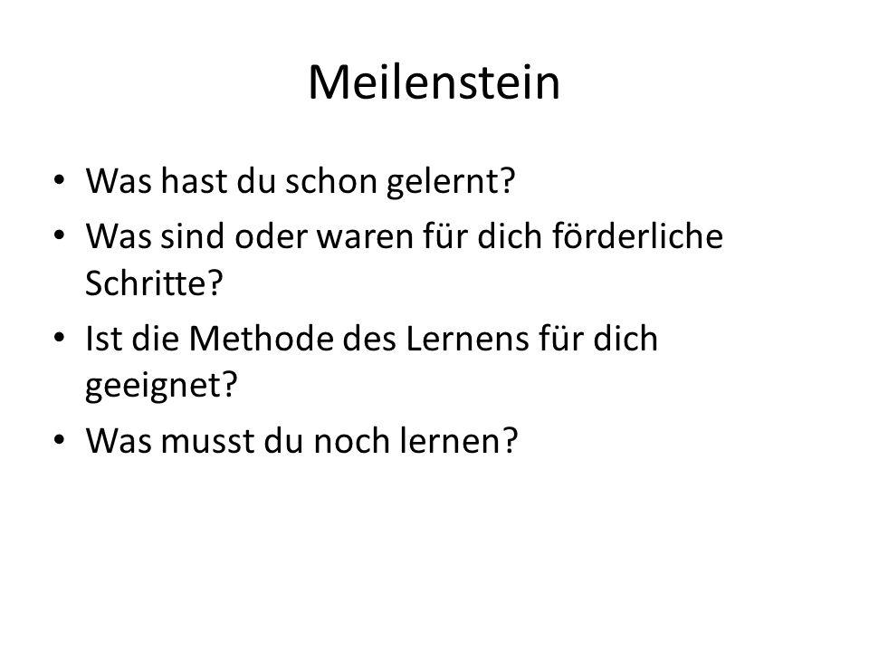 Förderkreislauf-Modell nach Fritz Zaugg Anlass: Gesprächsverhalten im Unterricht soll gefördert werden L klärt Ausgangssituation z.B.