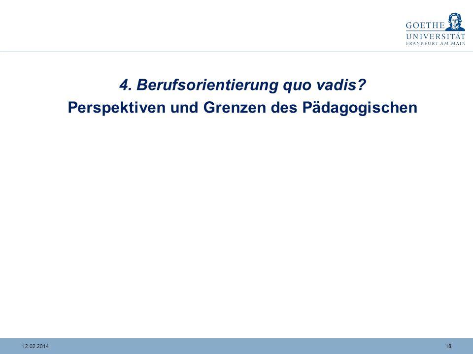 1712.02.2014 3. Kurzfristig integriert – langfristig exkludiert? Originelle Gelegenheitsverläufe (N = 6) Nabil (20 Jahre) HASABerufs- Fachschule BvB &