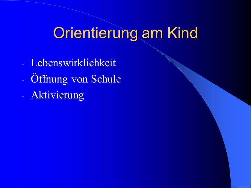 Wissenschaftsorientierung 1.Problemorientierter Unterricht 2.