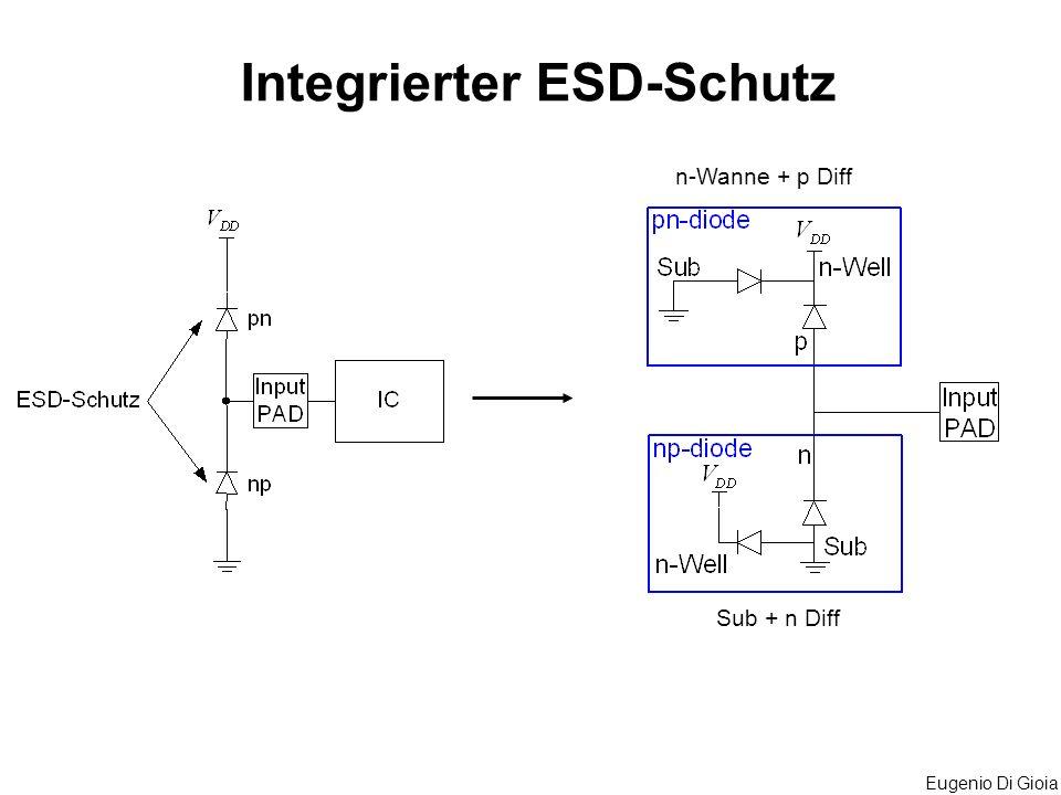 Eugenio Di Gioia Integrierter ESD-Schutz Sub + n Diff n-Wanne + p Diff