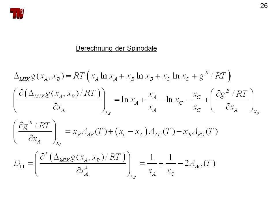 26 Berechnung der Spinodale