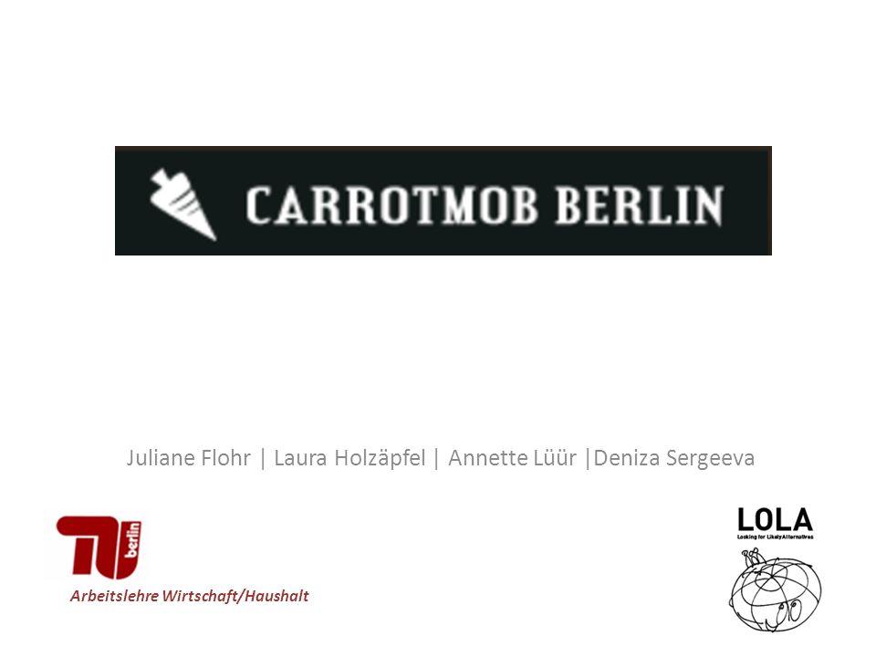Juliane Flohr | Laura Holzäpfel | Annette Lüür |Deniza Sergeeva Arbeitslehre Wirtschaft/Haushalt