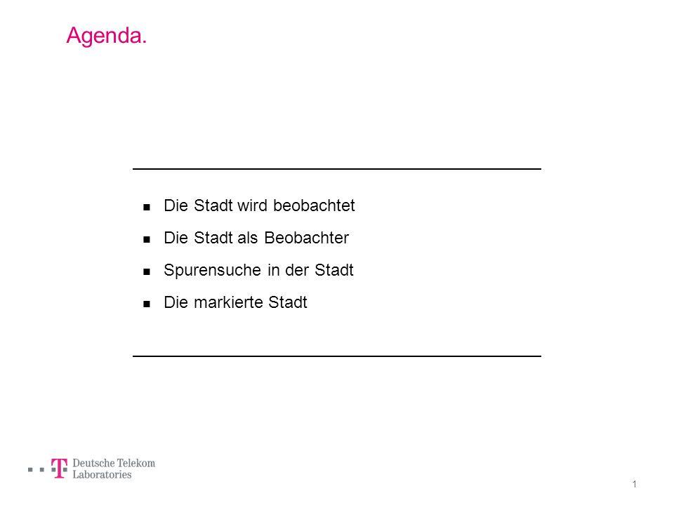 Promenadologie 2.0 Flanieren für Fortgeschrittene. Prof. Dr. Gesche Joost, TU Berlin, Interaction Design & Media