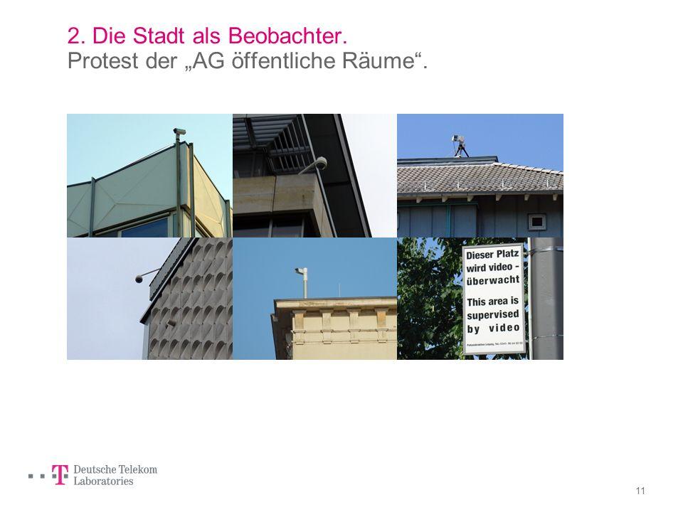 10 2. Die Stadt als Beobachter. Überwachungskameras in Leipzig: 674.