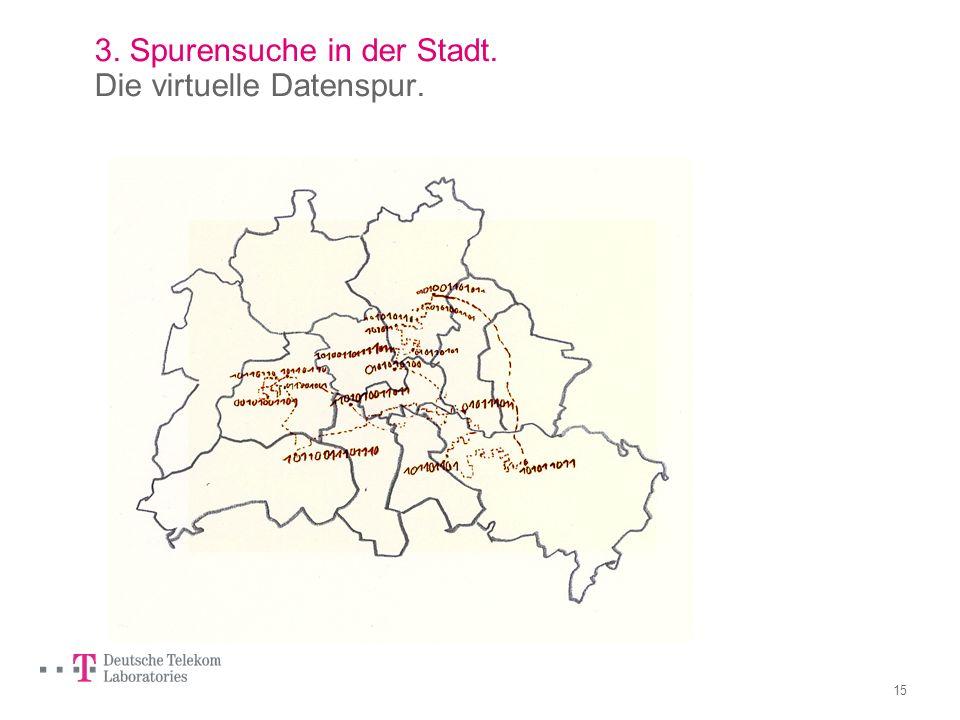 14 2. Die Stadt als Beobachter. Die Geo-Ikonografie. Dieser Stadtplan ist bildbasiert und zunächst anonym. Mit den Bildern können individuelle Wege un