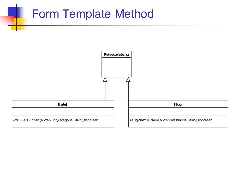 Form Template Method