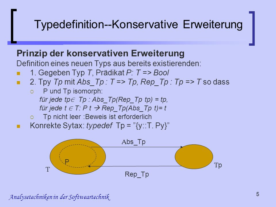 Analysetechniken in der Softweartechnik 16 LTL (reminder) Sublogic of CTL* Only formulas of the form A f, where f is a path formula containing only atomic propositions as state subformulas.