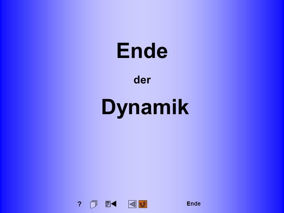 3 Dynamik Seite: 436 Technische Mechanik für Wirtschaftsingenieure Ende der Dynamik Ende ?