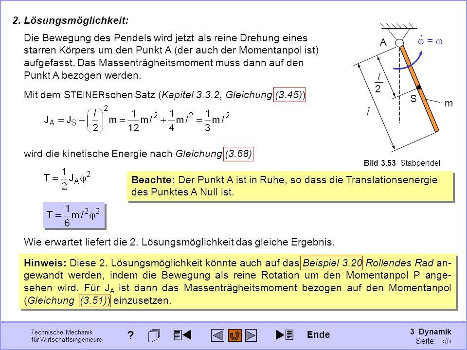 3 Dynamik Seite: 375 Technische Mechanik für Wirtschaftsingenieure 2.