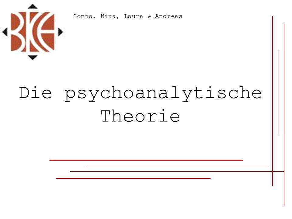 Die psychoanalytische Theorie Sonja, Nina, Laura & Andreas
