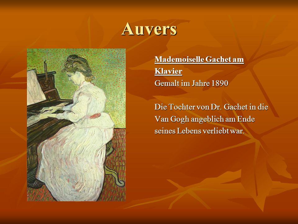 Auvers Mademoiselle Gachet am Klavier Gemalt im Jahre 1890 Die Tochter von Dr. Gachet in die Van Gogh angeblich am Ende seines Lebens verliebt war.
