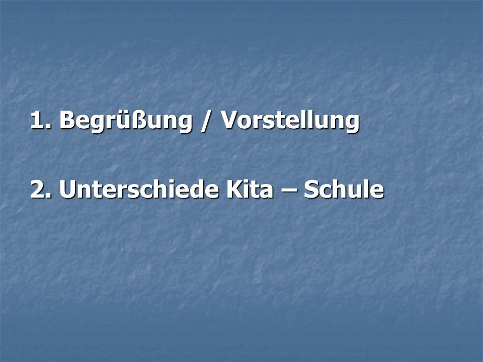 8.Termine: Hospitation der Kindergärten in unserer Schule: Mittwoch, Donnerstag, 4.5.