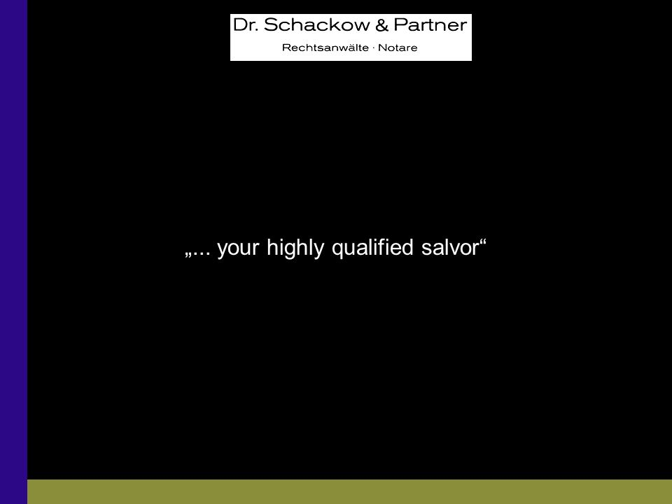 Gewerbliche Gebäudenutzung: Das Mietrecht in der Insolvenz... your highly qualified salvor
