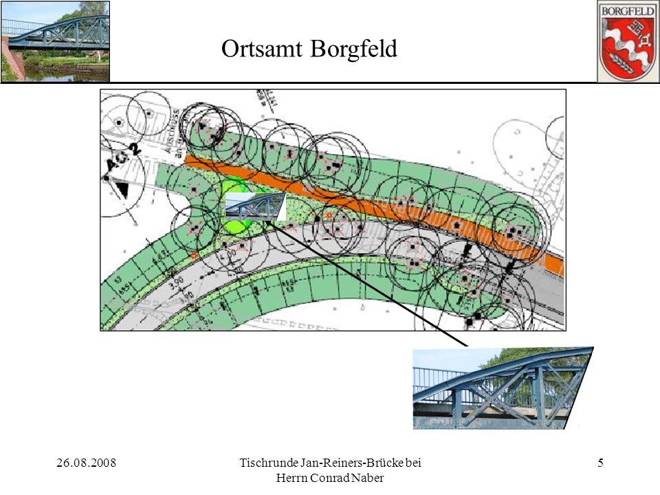 26.08.2008Tischrunde Jan-Reiners-Brücke bei Herrn Conrad Naber 5 Ortsamt Borgfeld