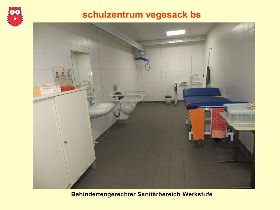 schulzentrum vegesack bs Behindertengerechter Sanitärbereich Werkstufe