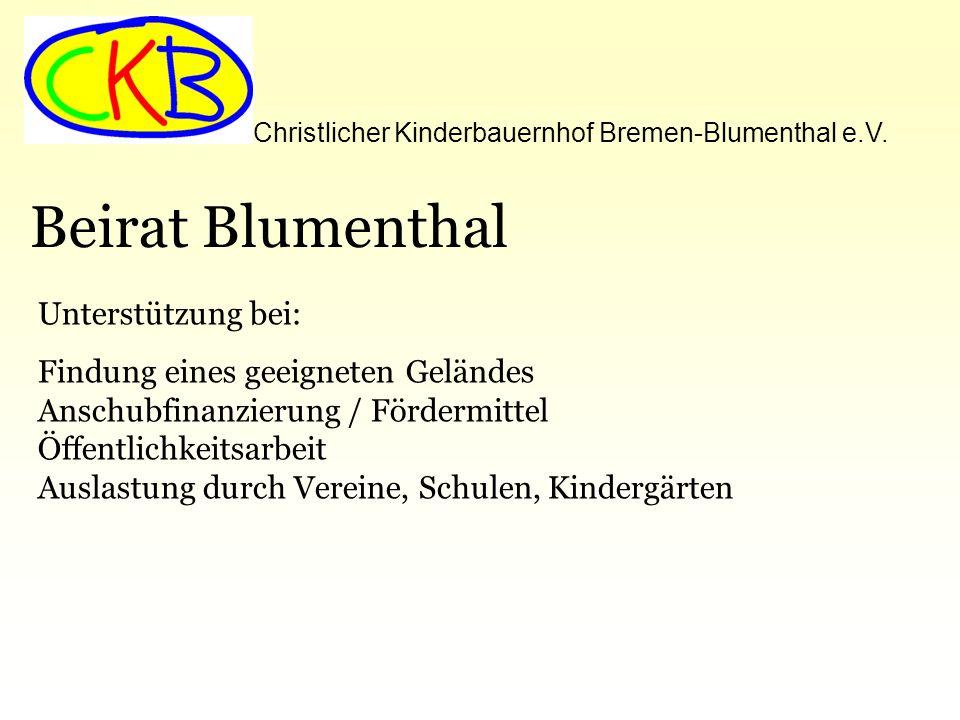 Christlicher Kinderbauernhof Bremen-Blumenthal e.V.