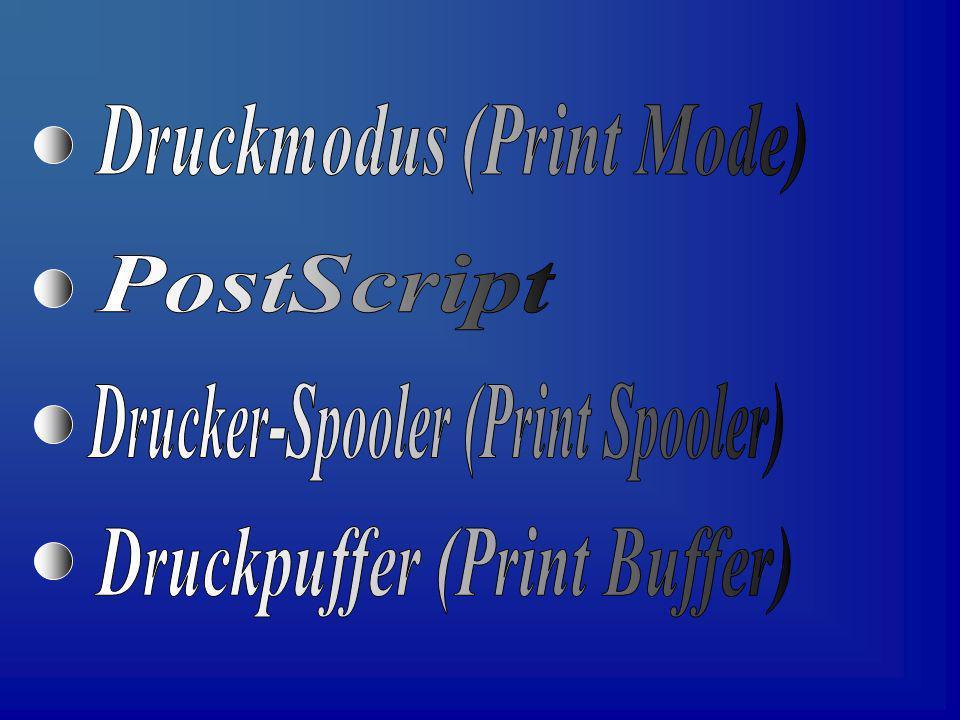 Dieser Begriff bezeichnet im Grunde genommen nur das Ausgabeformat eines Druckers.