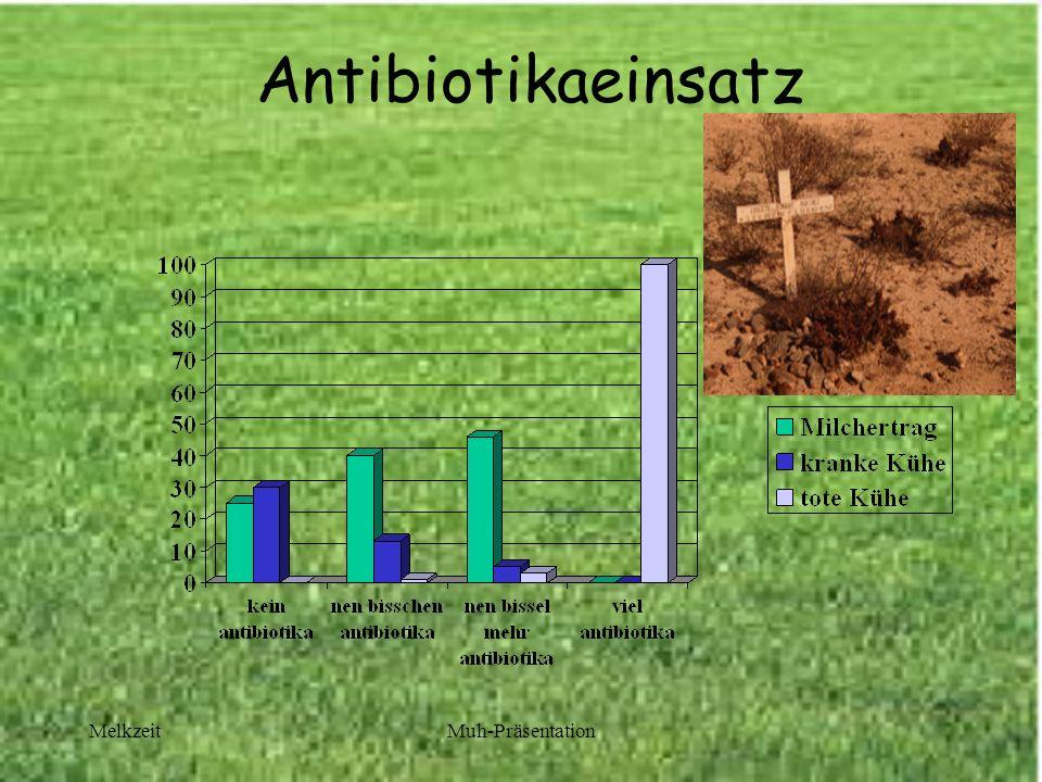 MelkzeitMuh-Präsentation Antibiotikaeinsatz