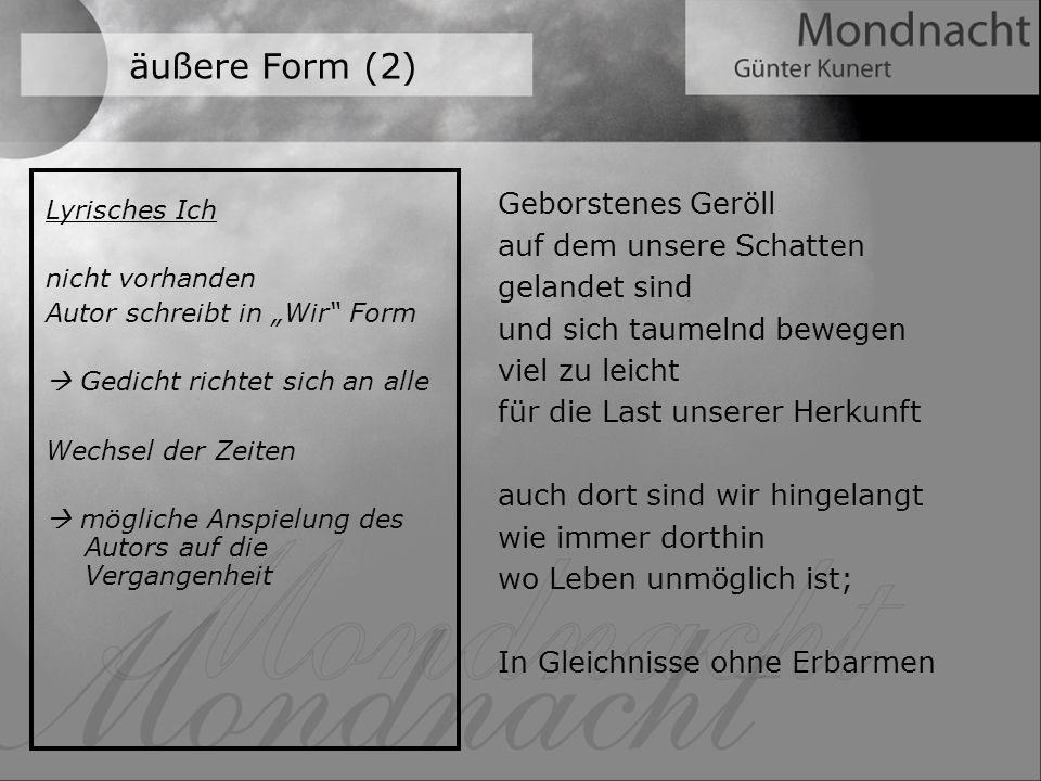 Biografie Günter Kunert Quelle: www.wikipedia.de geboren 6.