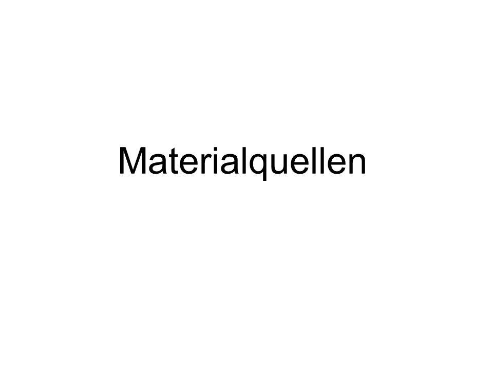 Materialquellen