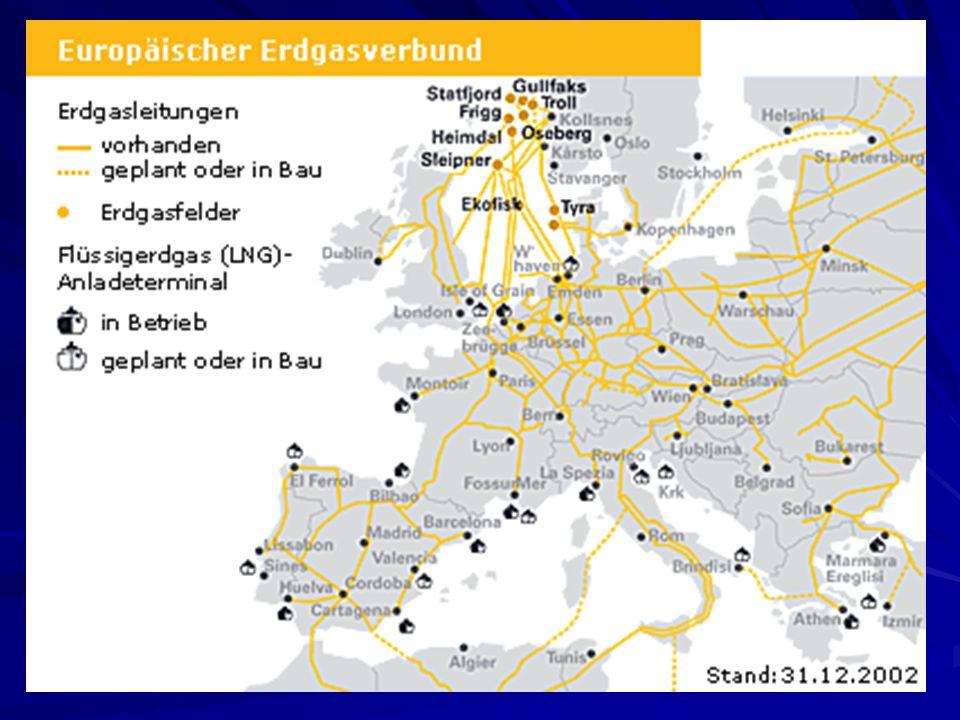 Industrielle Bedeutung: Weltproduktion Weltproduktion Versorgung in Deutschland Versorgung in Deutschland Verwendung von Erdgas Verwendung von Erdgas Umweltpolitik Umweltpolitik Erdgas-Unternehmen Erdgas-Unternehmen