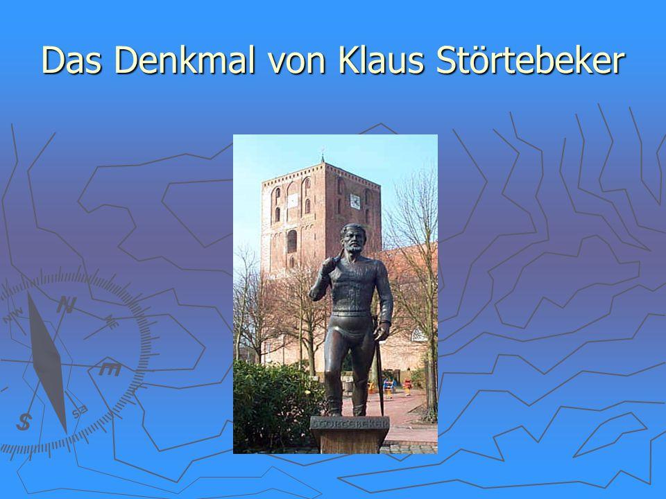 Das Denkmal von Klaus Störtebeker