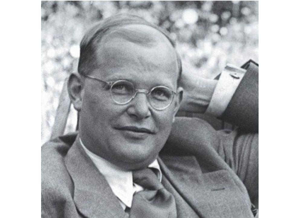 Dietrich Bonhoeffer Auf dem Rückweg aus Amerika Seit ich auf dem Schiff bin, hat die innere Entzweiung über die Zukunft aufgehört.