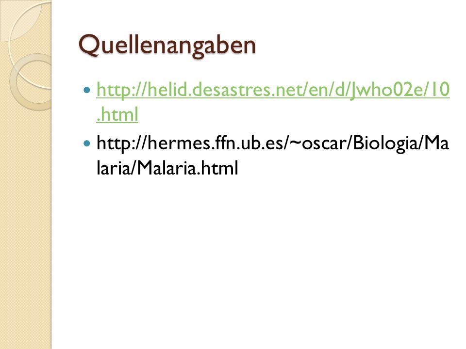Quellenangaben http://helid.desastres.net/en/d/Jwho02e/10.html http://helid.desastres.net/en/d/Jwho02e/10.html http://hermes.ffn.ub.es/~oscar/Biologia