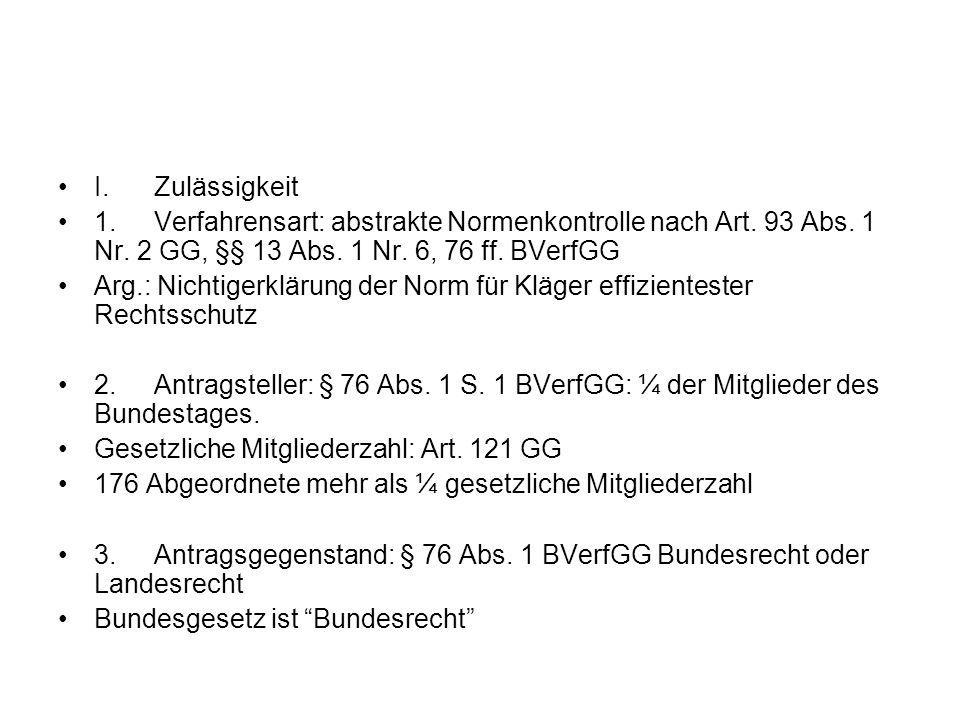 4.Antragsgrund, § 76 Abs.