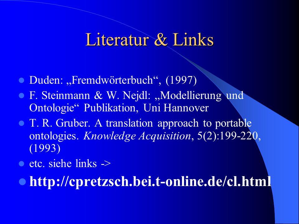 Literatur & Links Duden: Fremdwörterbuch, (1997) F.