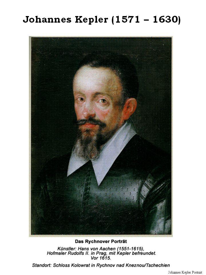 Johannes Kepler Portrait
