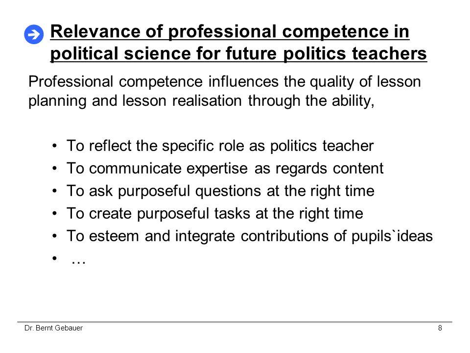 Three Levels of Teacher Training 12.