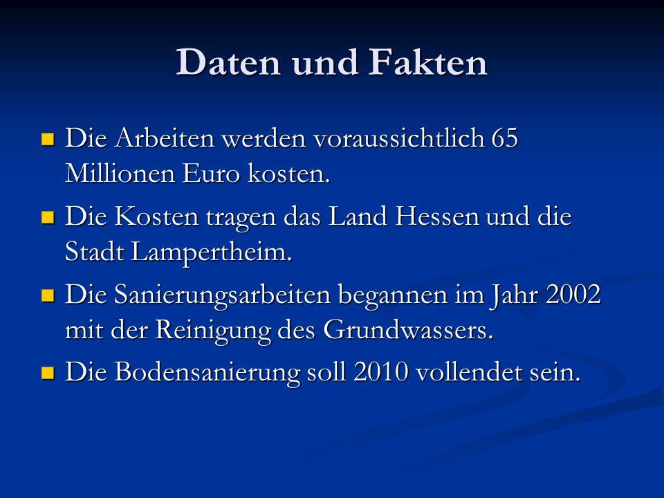 Die Arbeiten werden voraussichtlich 65 Millionen Euro kosten. Die Arbeiten werden voraussichtlich 65 Millionen Euro kosten. Die Kosten tragen das Land