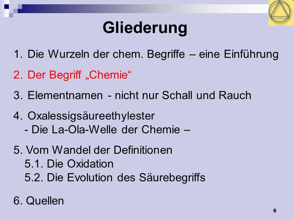 17 Namensgeber Flammenfärbung Caesium (lat.caesius = himmelblau) Rubidium (lat.