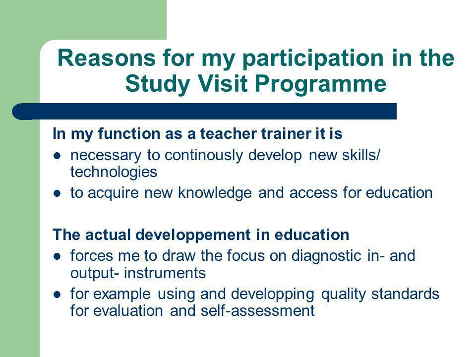 Further vocational training: Seminary at the University of Luzern (Prof. Markus Rehm, Switzerland)
