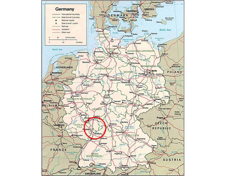 Personal introduction Gerd Gräber 55 years old At present living in Mannheim in the southern part of the Federal Republik of Germany (see the following map)