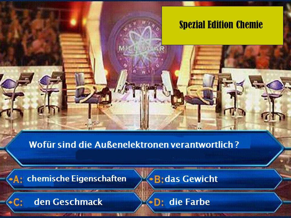 Spezial Edition Chemie Ordnungszahl Was bestimmt die Anzahl der Protonen .