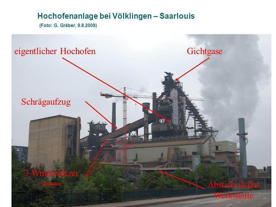 Hochofenanlage bei Völklingen – Saarlouis (Foto: G.