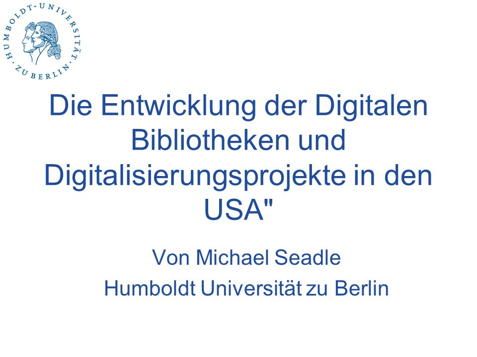 Was ist eine digitale Bibliothek.